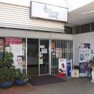 The Medicine Chest Pharmacy is located in the Chisipite Shopping Centre, Harare.